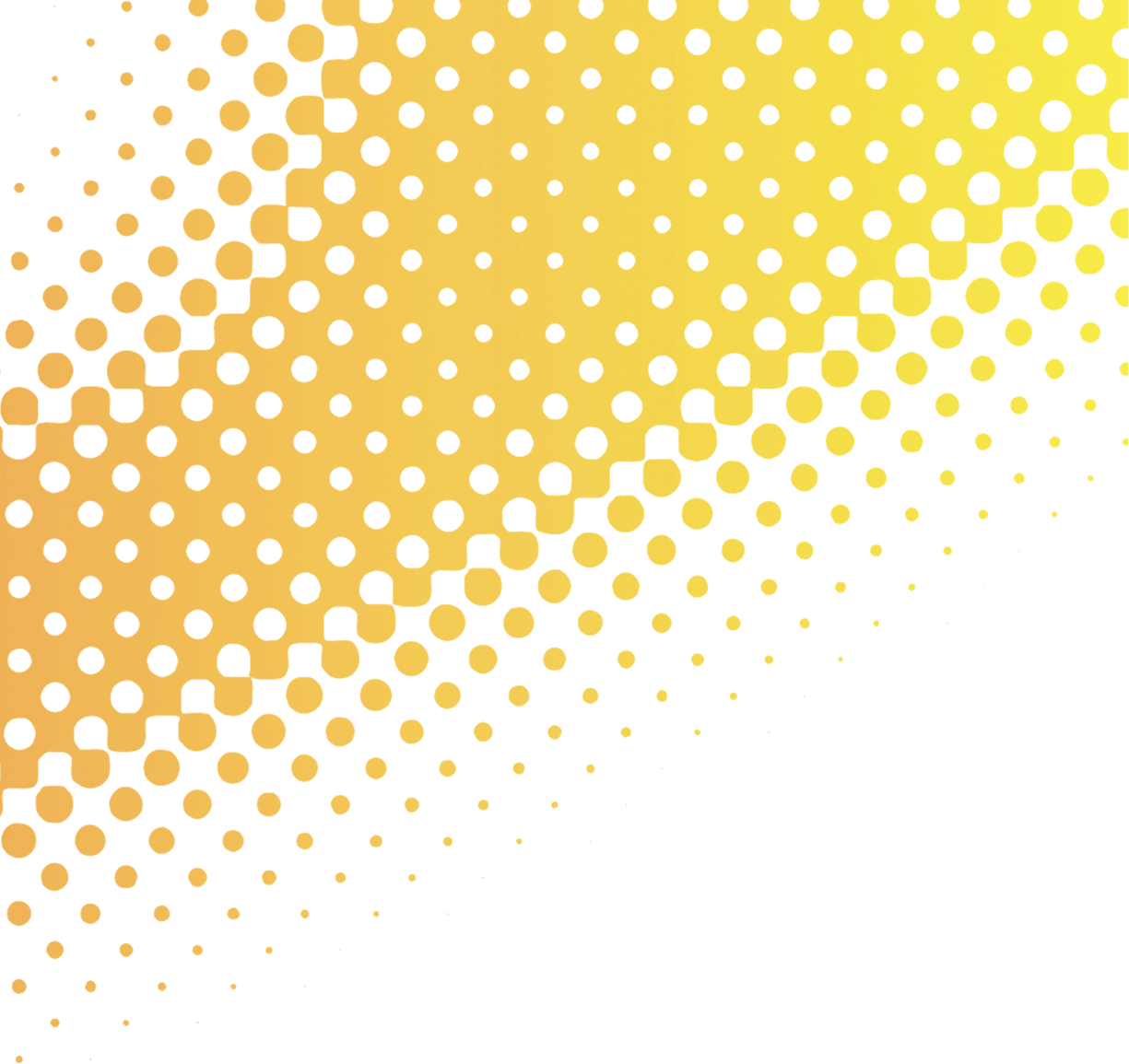 Dot background png. Textile printing halftone yellow