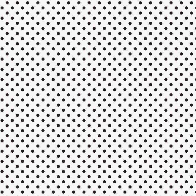 Dot clipart. Black dots small hand
