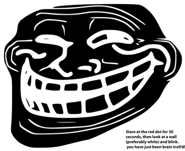 Dot clipart blinking red. Troll face funny photos