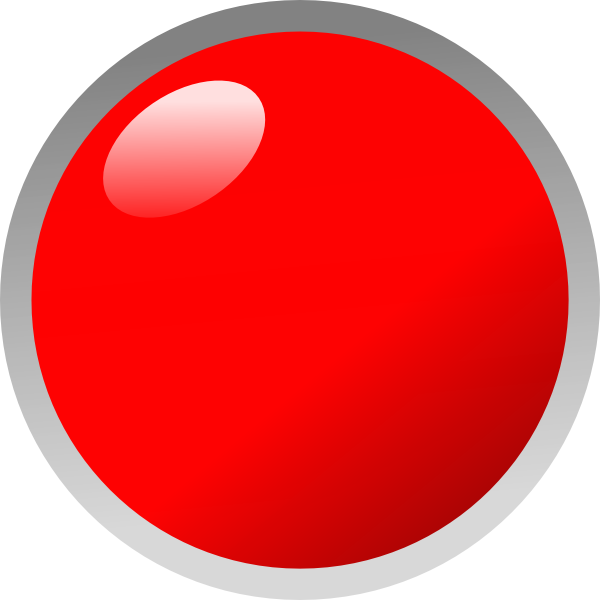 Dot clipart blinking red. Led just wire clip