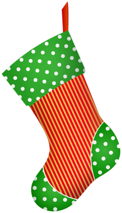 Christmas decorative stocking png. Socks clipart polka dot sock clipart free stock