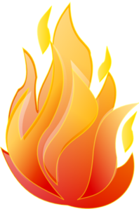 Dot clipart fire. Clean clip art at
