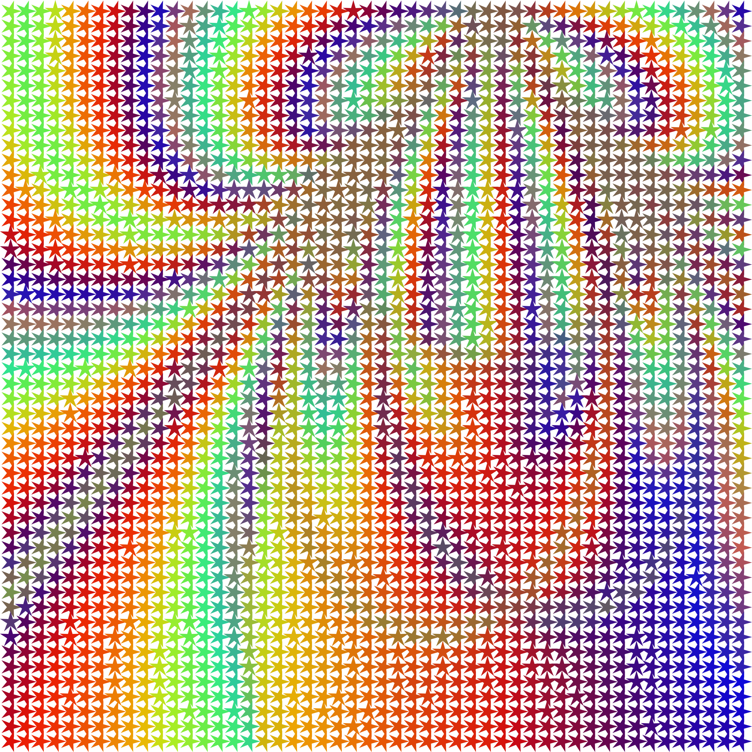 transparent burst halftone