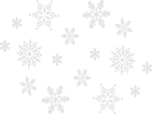 Dot clipart snow. Grey clip art at