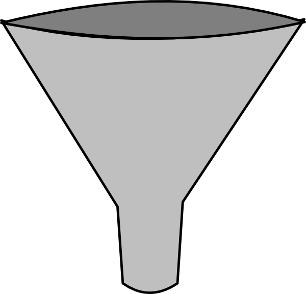 Dot funnel png. Simple clip art at