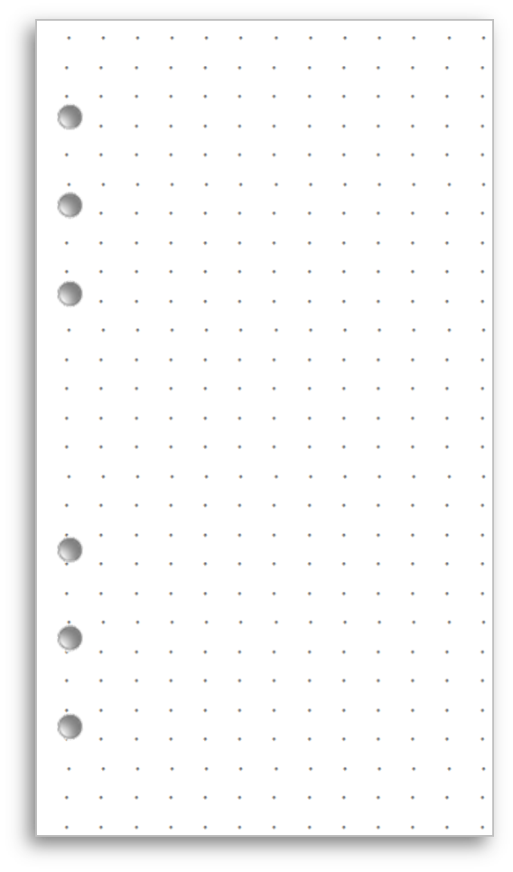 Dot grid png. My life all in
