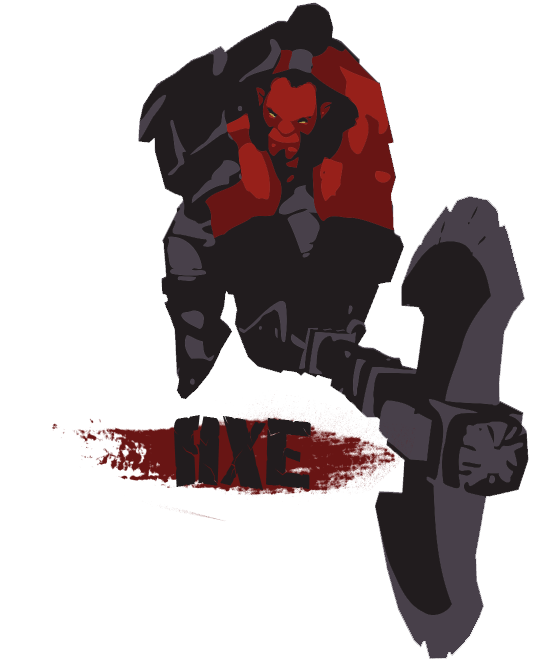 Dota 2 axe png. By rzepa on deviantart