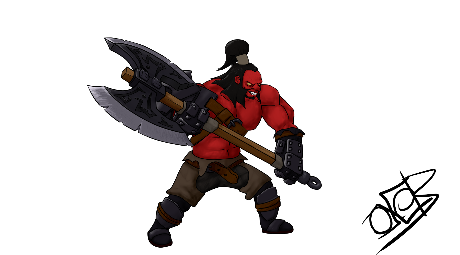 Dota 2 axe png. Mogul khan the by