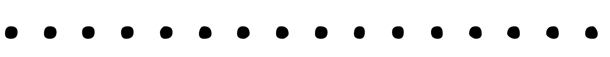 Dot divider png. Clipart dotted line marcos