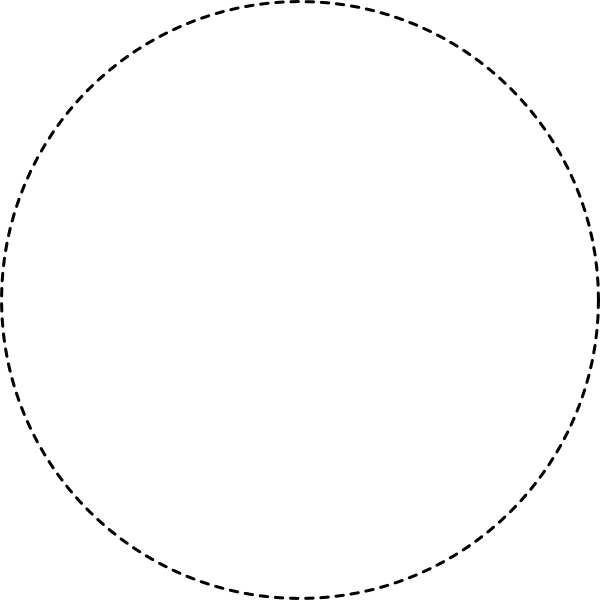 Circle dotted