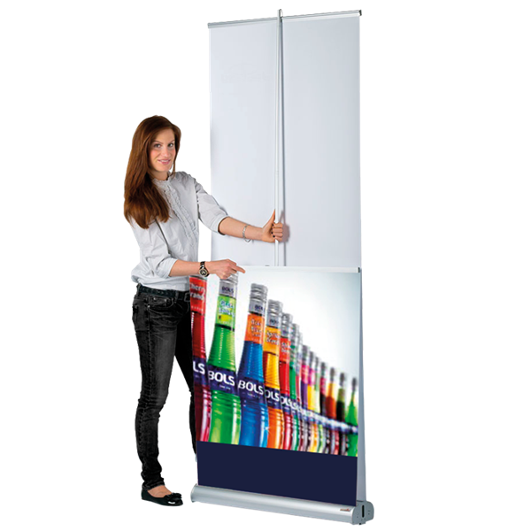 Double banner png. Sided pull up banners