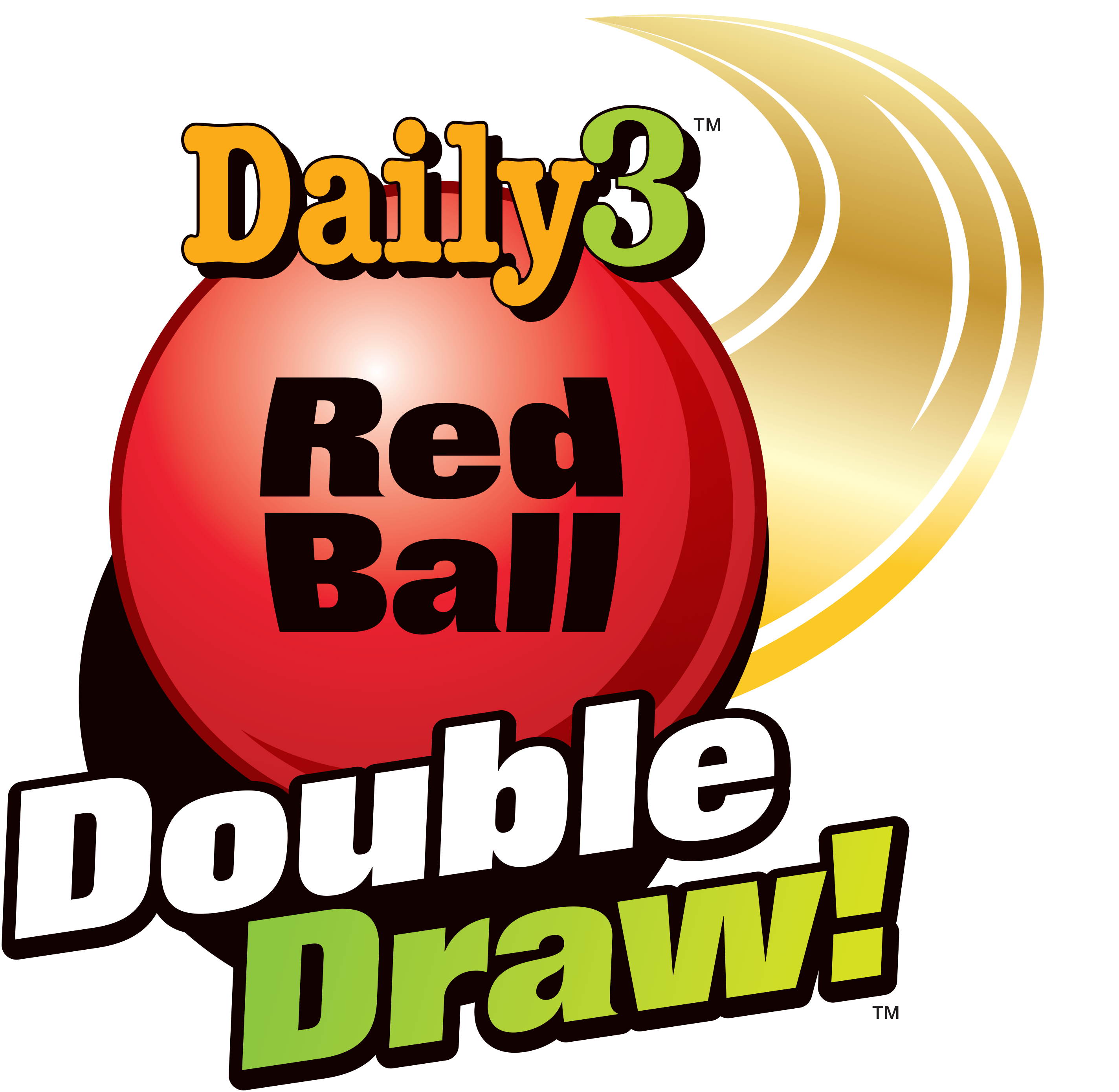 Double drawing. Red ball draw gives