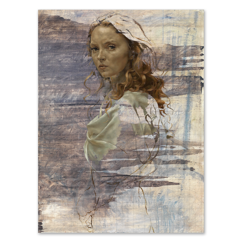 Portraits drawing nature. Lily cole as helen