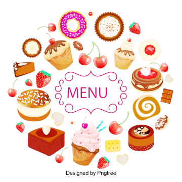 Donuts vector donut box. Cartoon png images vectors