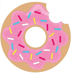Party clipart donut. Invitations images gallery for