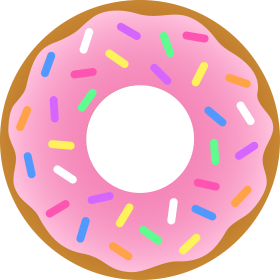 Party clipart donut. Pin by firoz on
