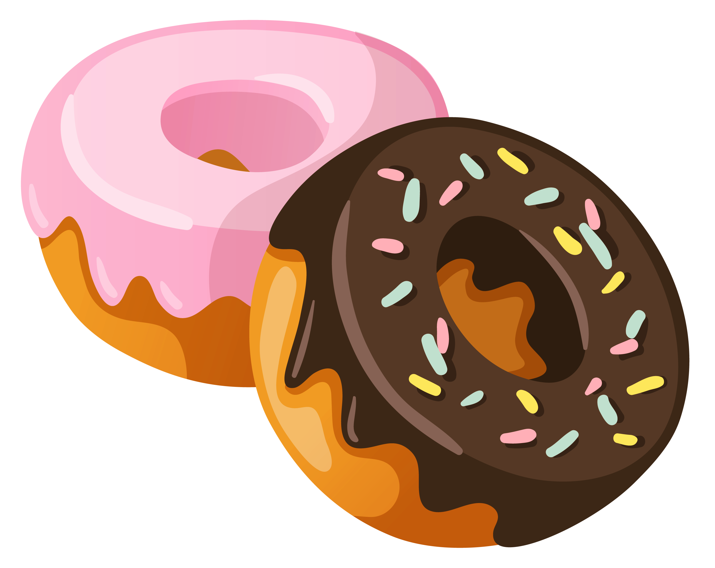 Sweets clipart. Donuts png picture gallery