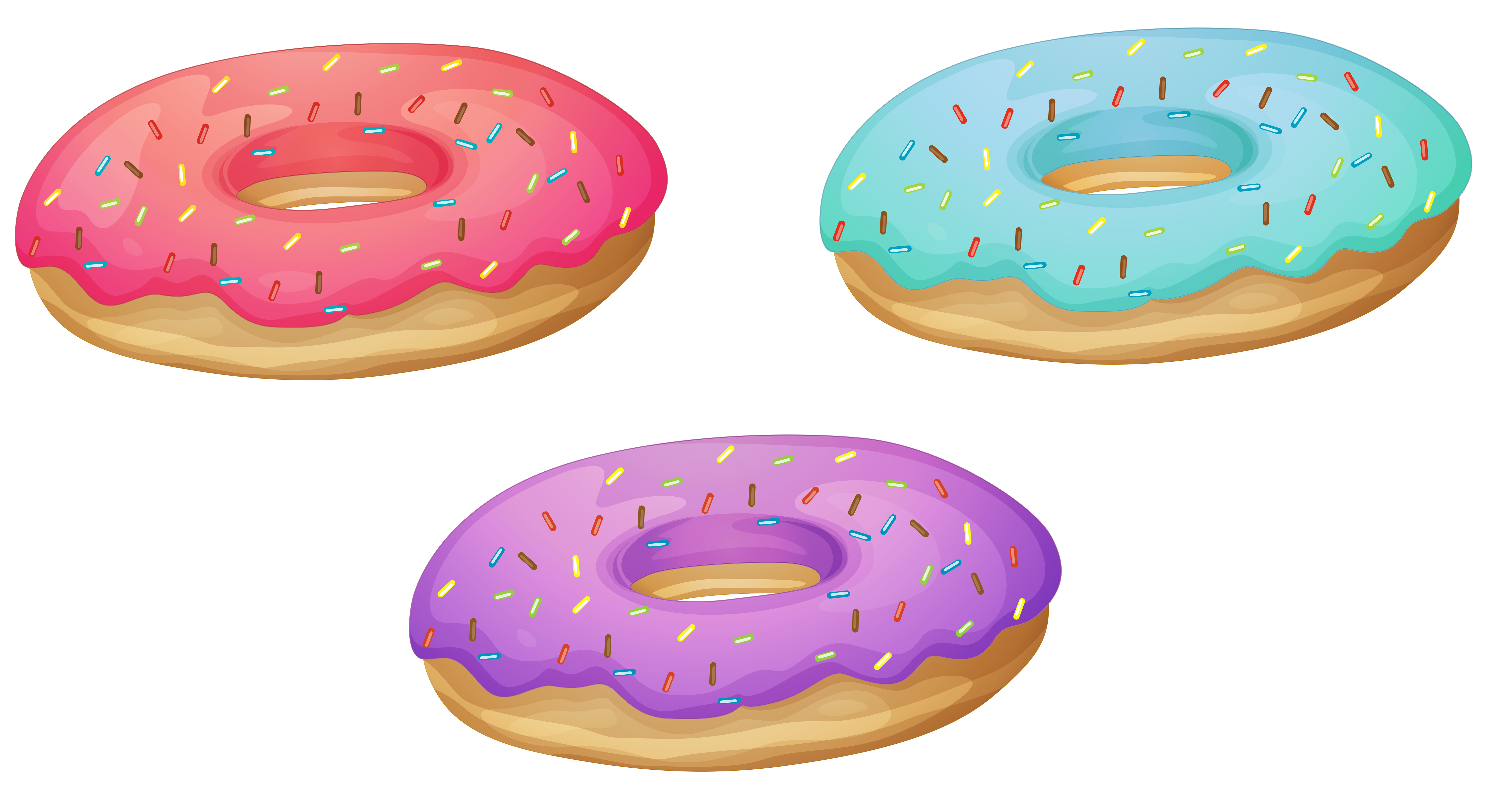 Doughnut transparent clipart. Donuts png image gallery