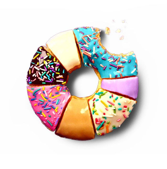 Doughnut transparent overlay. This absolutely needed to