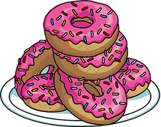 Doughnut transparent simpson. The simpsons tapped out