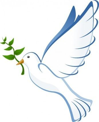 Dove clipart god. The cove community remembering