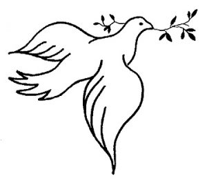 dove clipart god