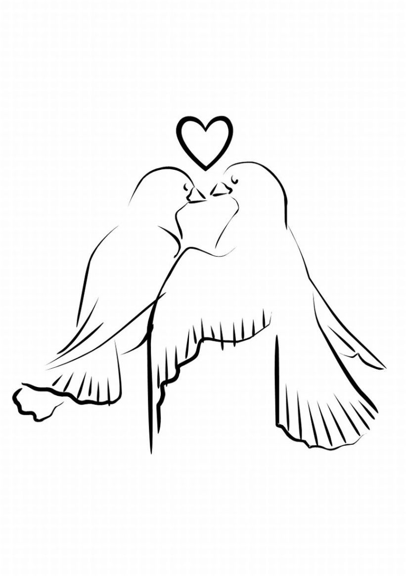 dove clipart love dove