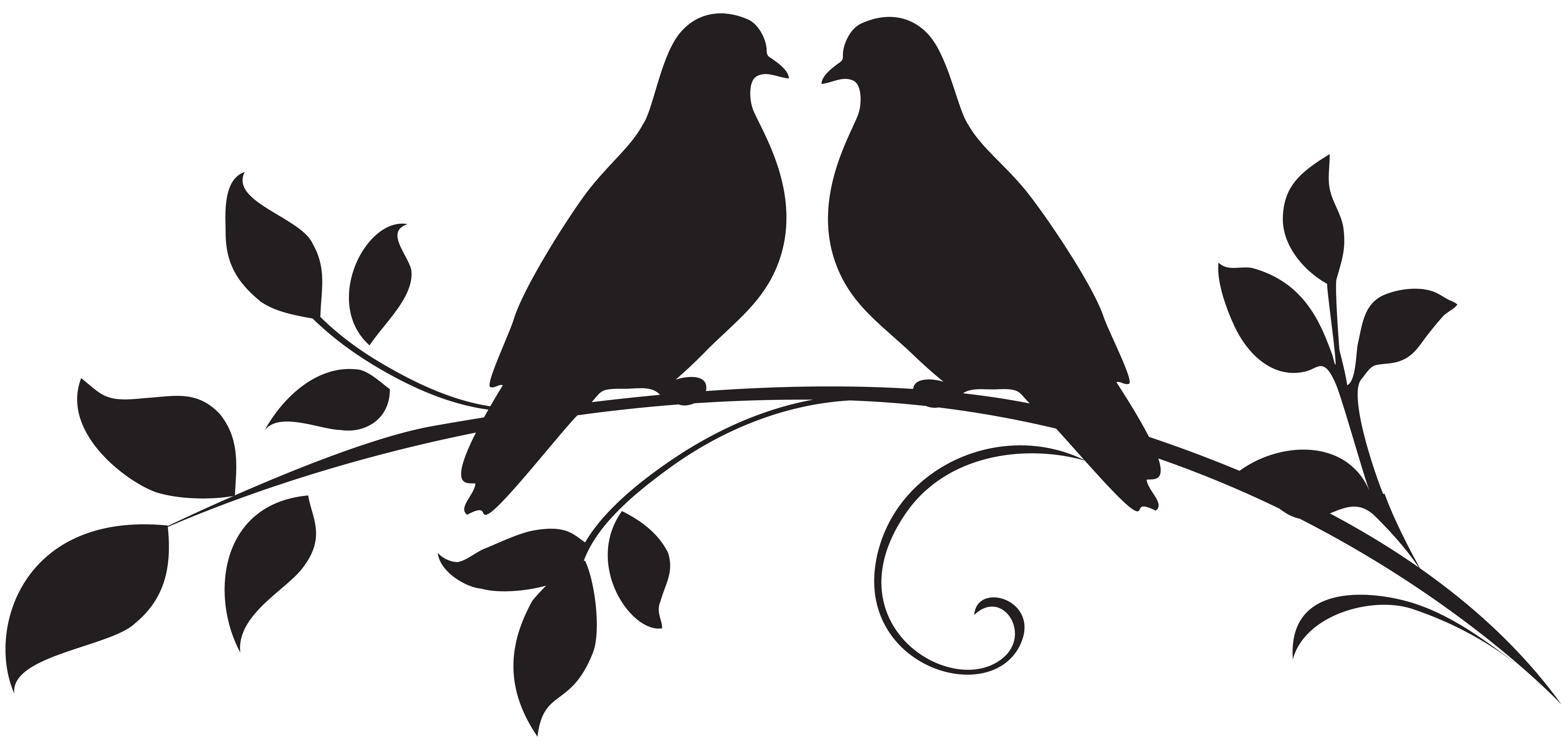 Love silhouette png