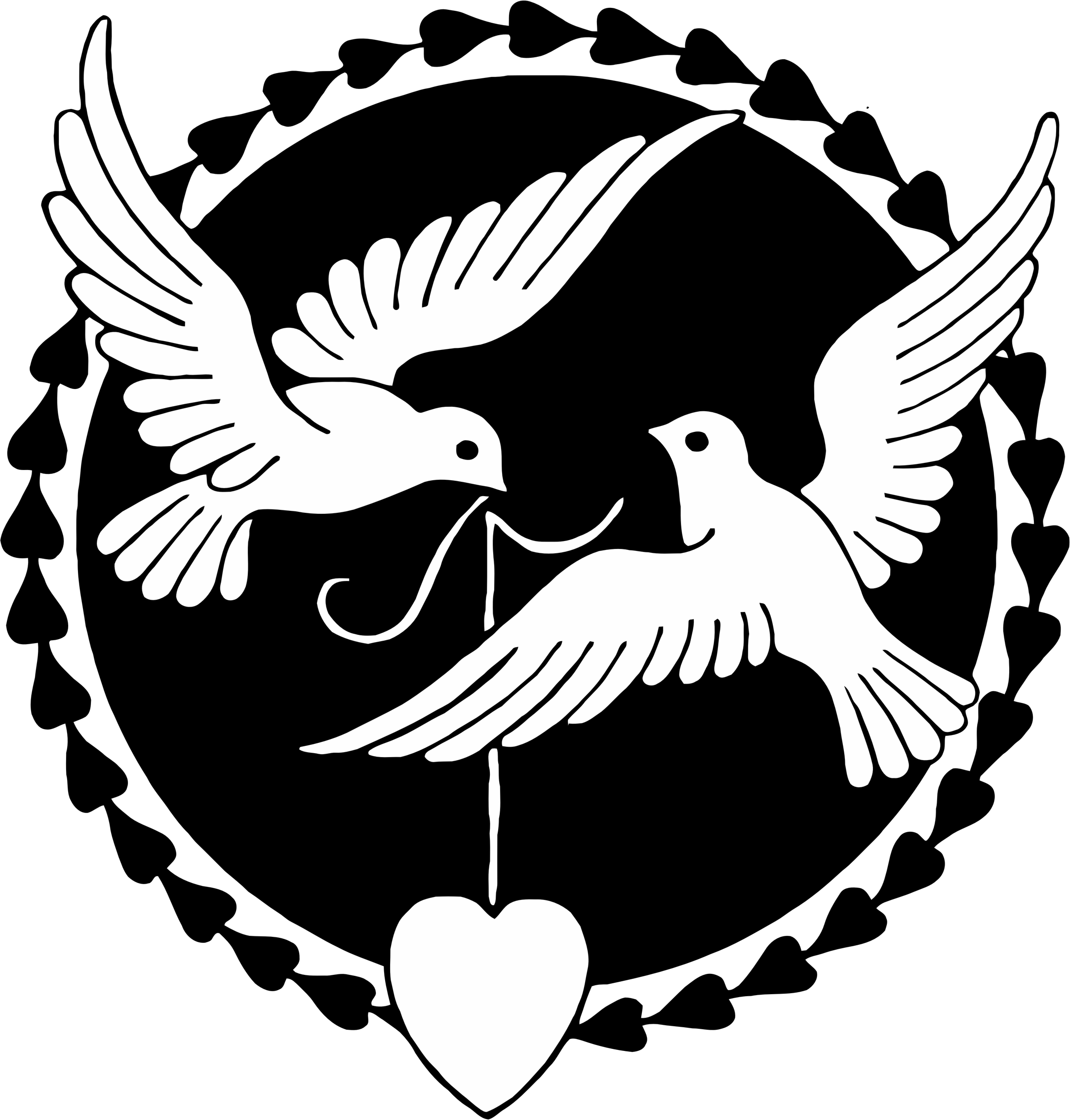Dove clipart love dove. Doves big image png