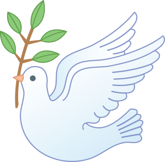 Dove clipart olive branch. With