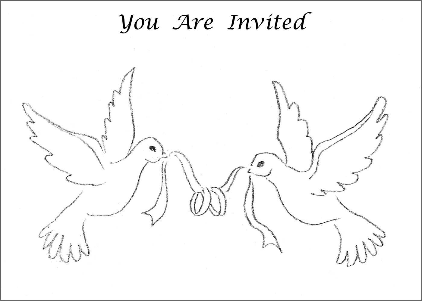 Dove clipart wedding invitation. Images of christmas