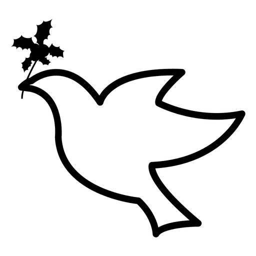 Vector doves svg. Flying dove icon transparent