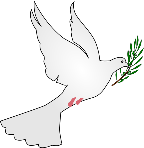 Dove with olive branch png. File peace svg wikipedia