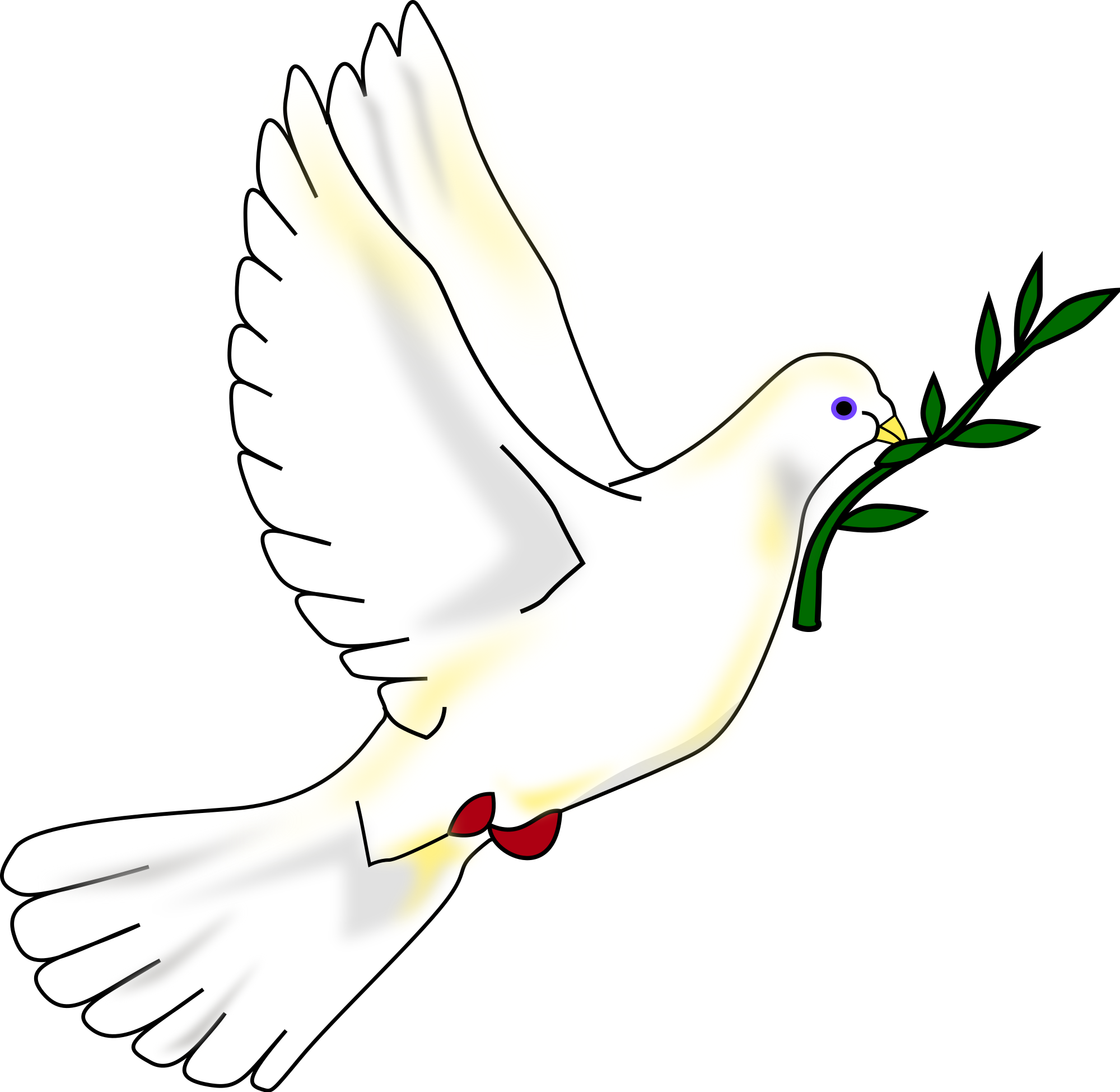 Dove with olive branch png. File peace svg wikimedia