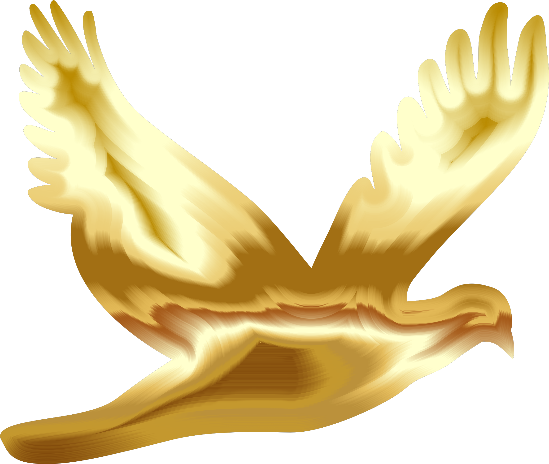 Doves clipart yellow. Silhouette at getdrawings com
