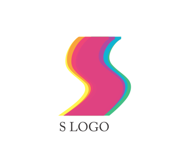 Vector s logo design