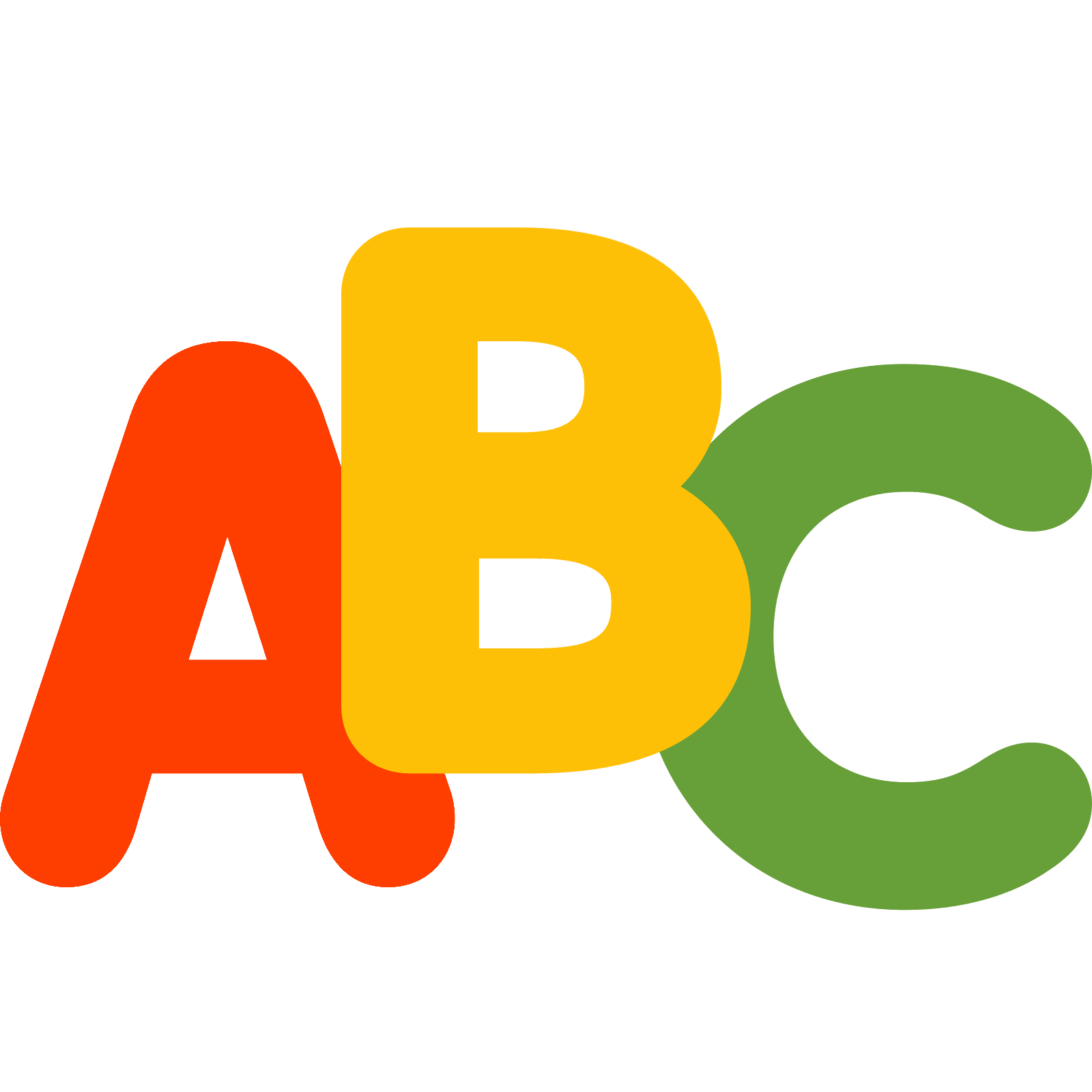 Download alphabet png. Abc icon free and