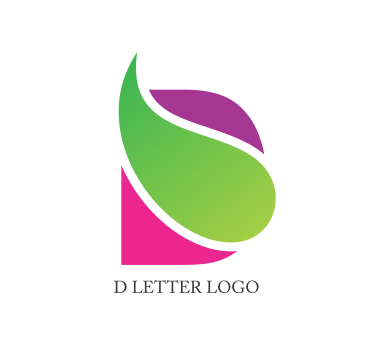 Download alphabet png. D logo design vector