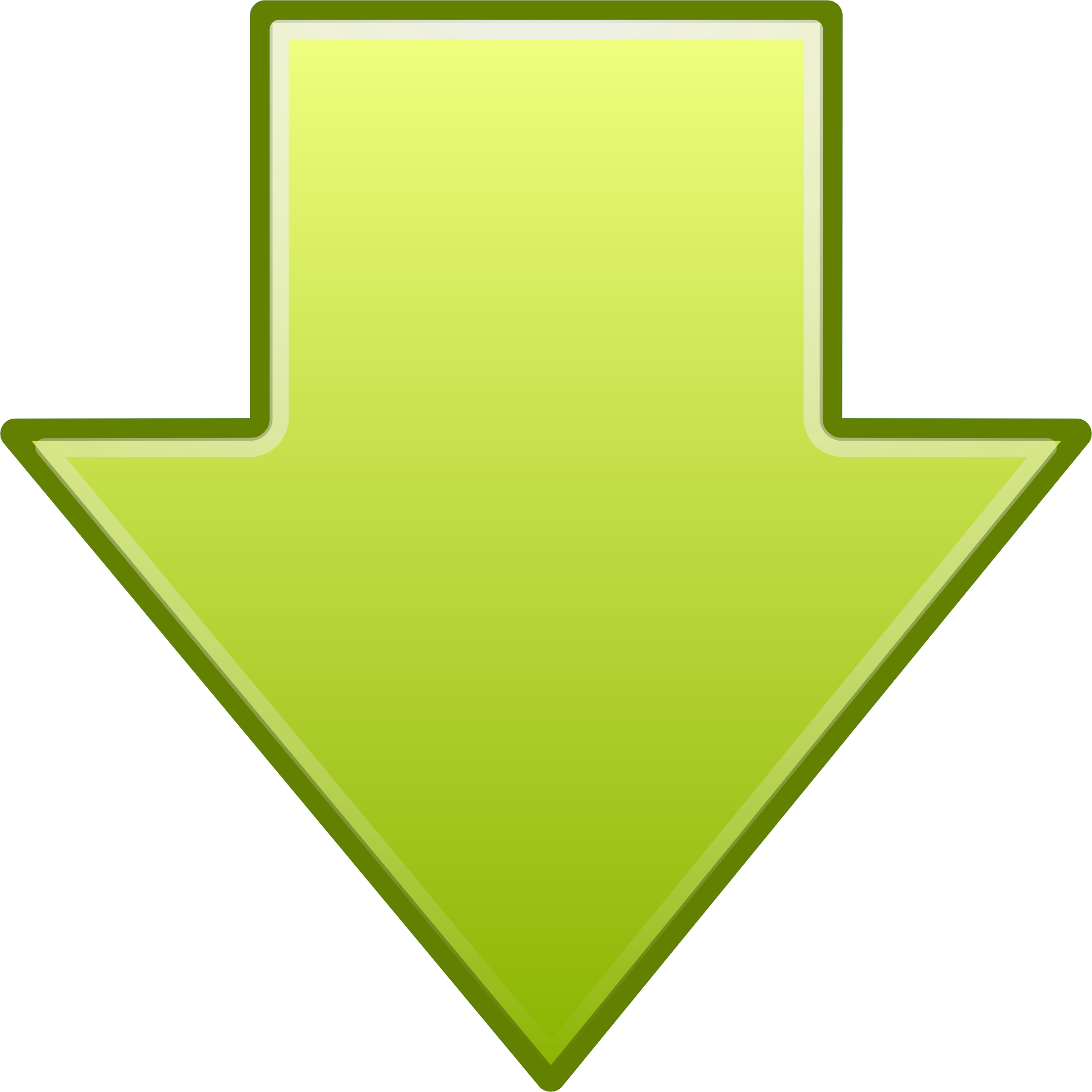 Download arrow icon png. Go down icons free