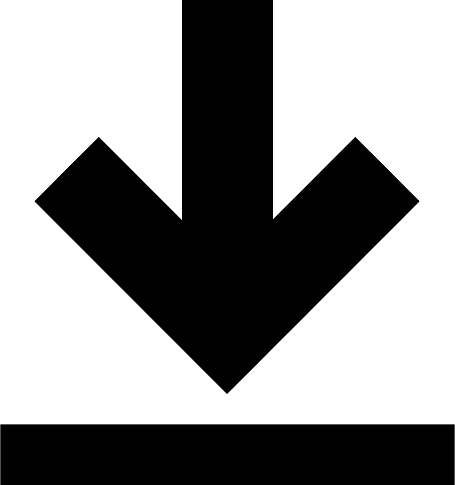 Download arrow png. Save down svg icon