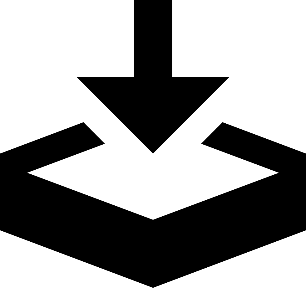Download arrow png. Save store svg icon