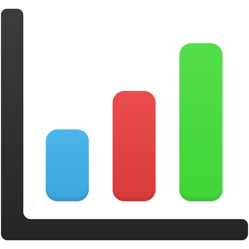 Download bar png. Chart icon free as