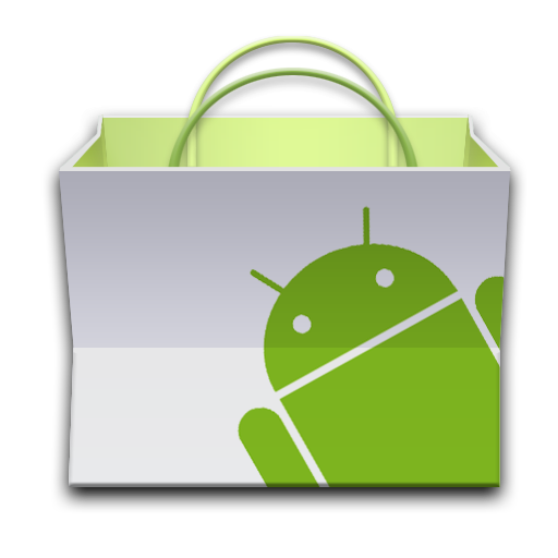 Download icon android png. Bag basket market paper