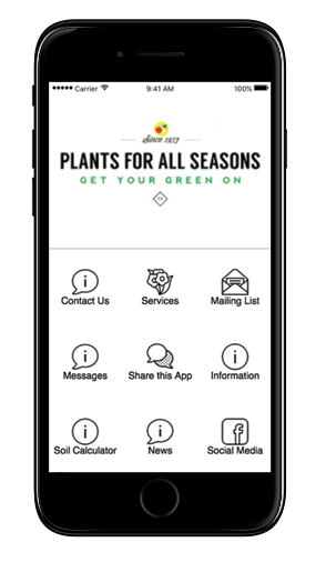 Mobile plants for all. Download our app png banner freeuse download