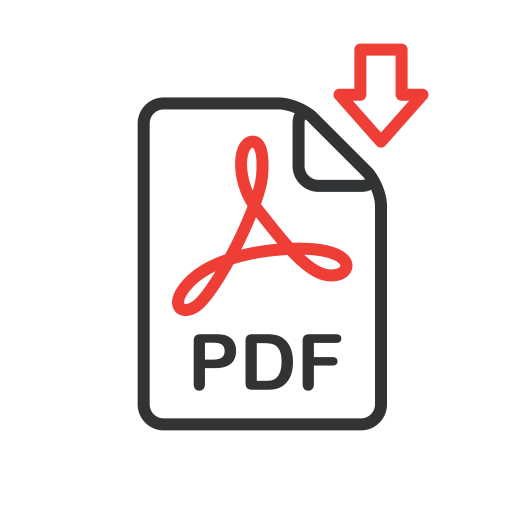 Download pdf icon png. Line icons set by