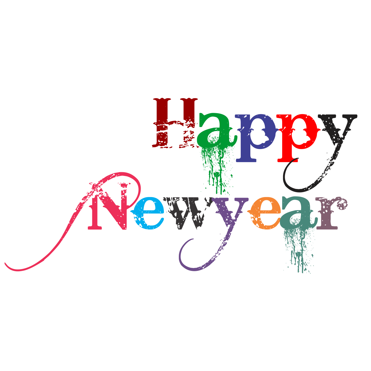 Happy new year photoshop. Download png for picsart picture freeuse download