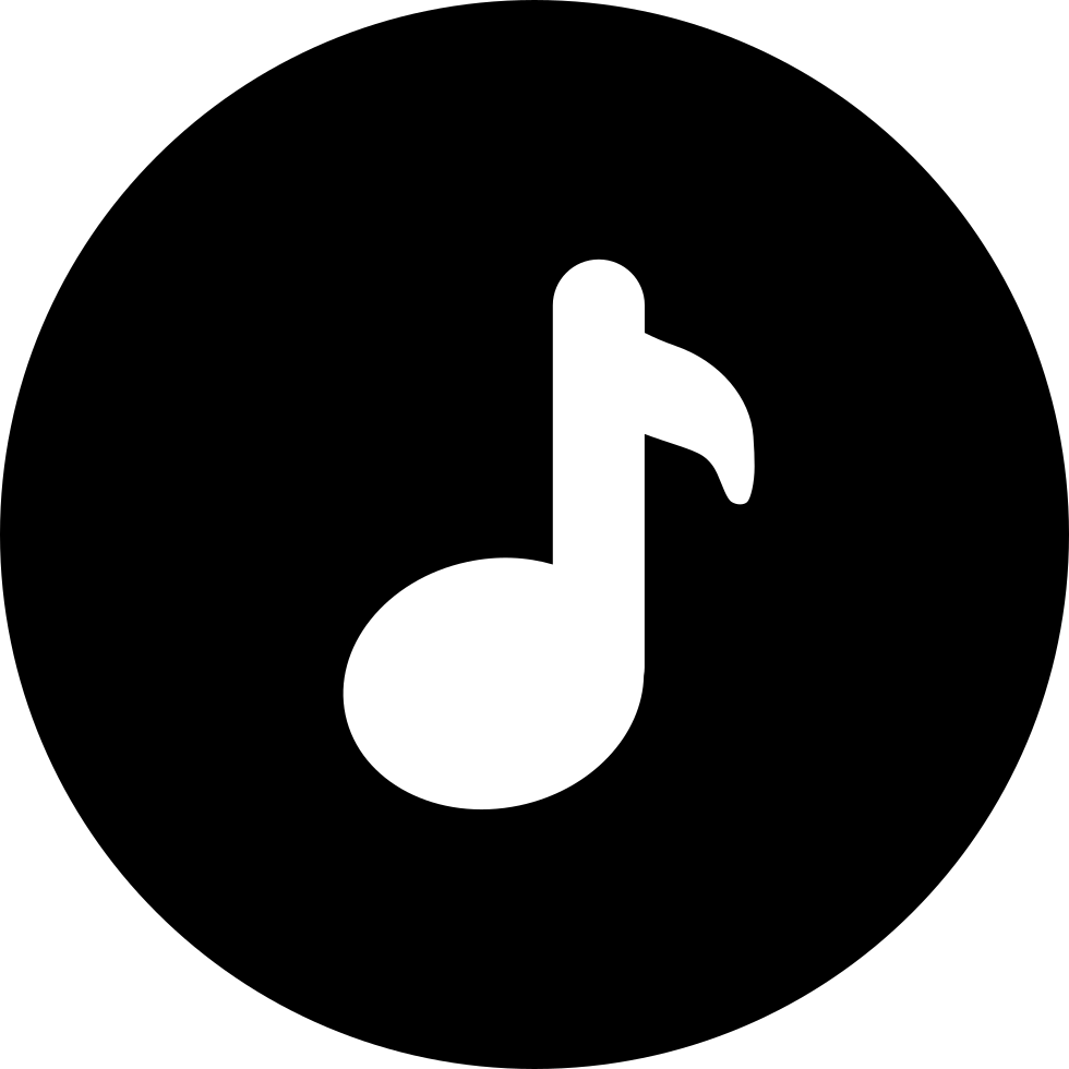 Download png latest music 2015. Note inside a circle