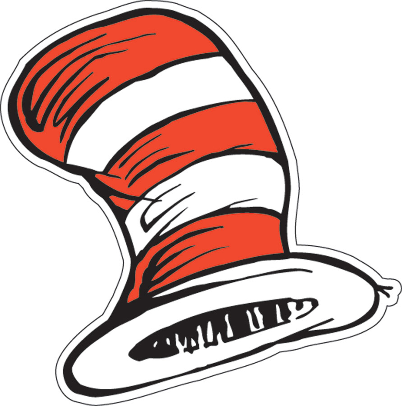 The s panda free. Dr seuss clipart cat in hat graphic free library