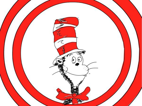 dr seuss clipart cat in hat