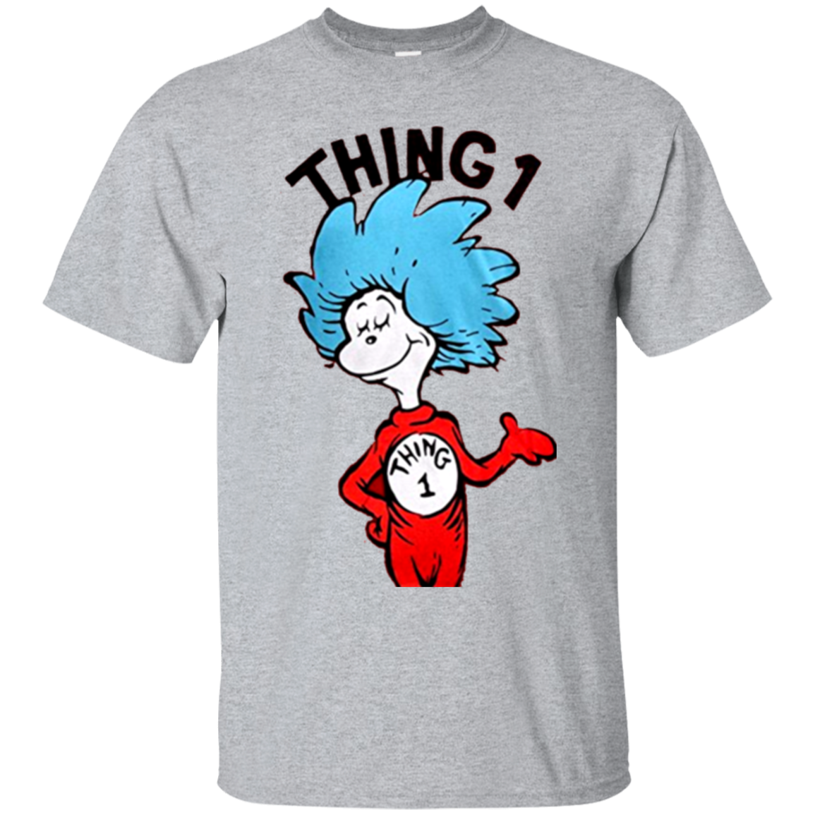 Dr seuss thing 1 and thing 2 png. Or adult t shirt